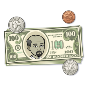Money placeholder